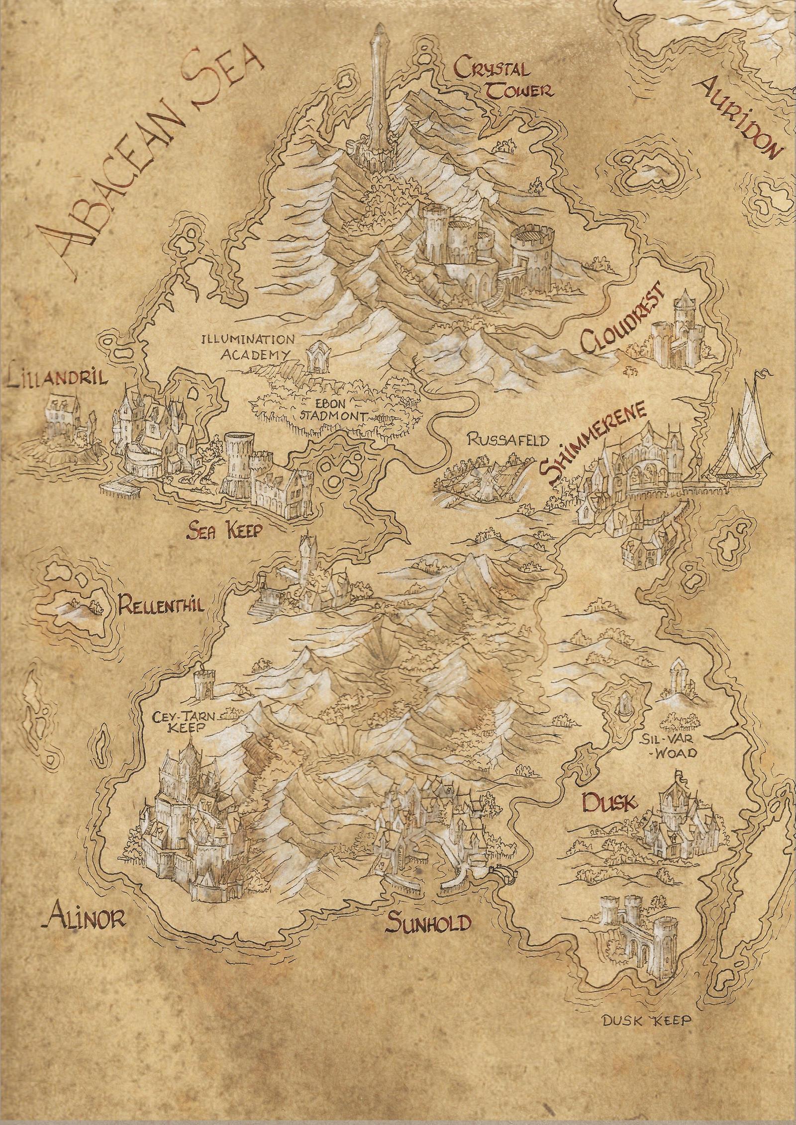 Summerset Map