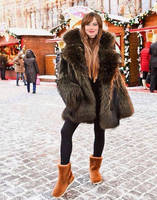 Emma Stone Modelling For Uggs by FurLover01