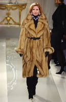 Ms. Melissa Gilbert In Golden Sable On The Runway by FurLover01