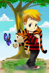 Calvin and Hobbes Fanart