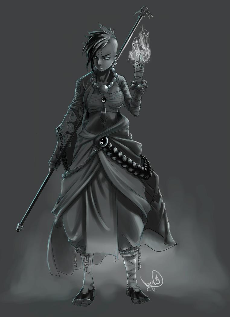 Monk by Archiri