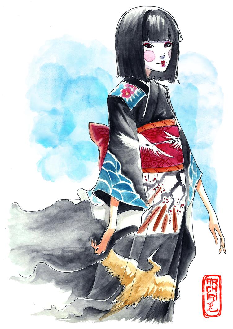 Kokeshi by Archiri