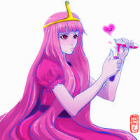 Princess Bonnibel Bubblegum of the Candy Kingdom by Archiri