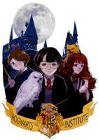 Hogwarts by Archiri