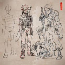 Elf Hunter by Archiri