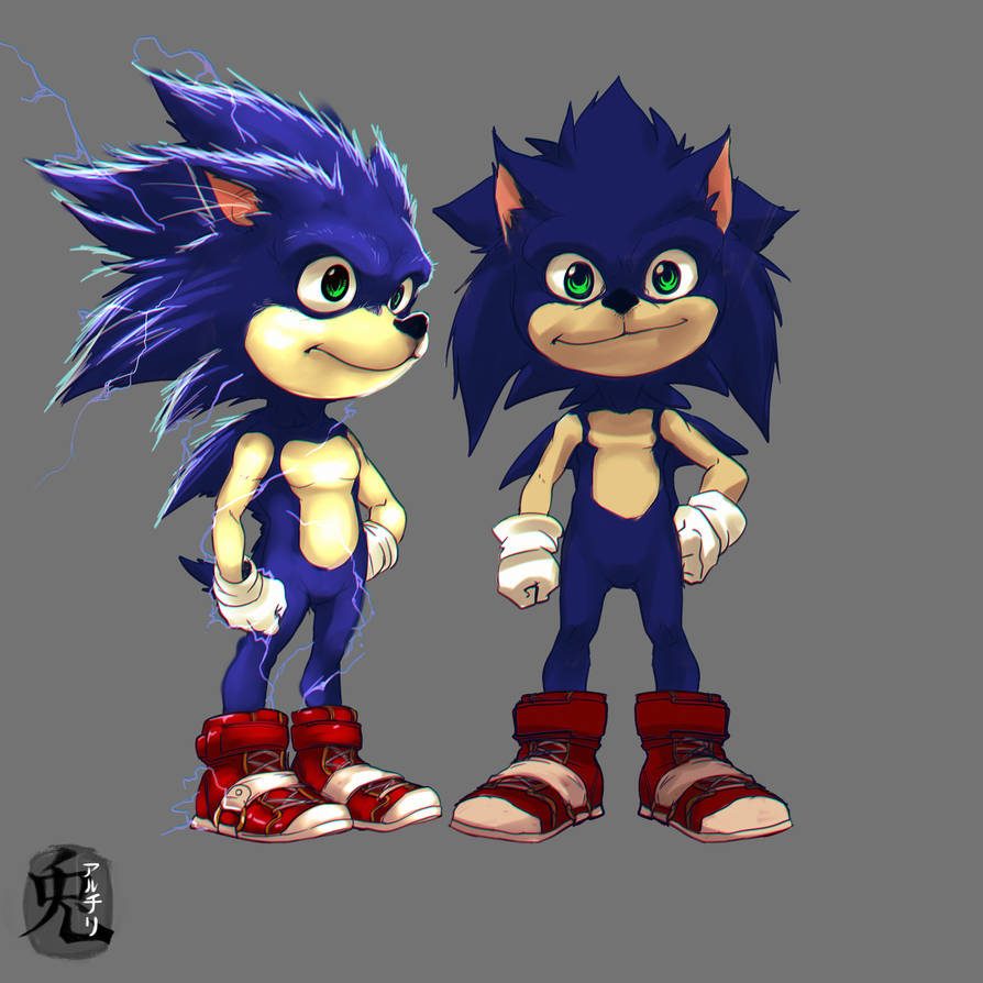 sonic concept by Archiri