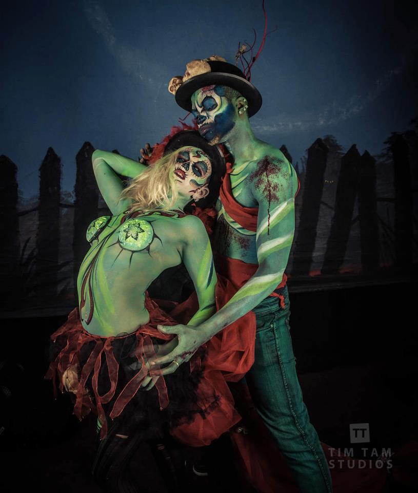 Body Art Zombie Love By Fantasyforflesh On Deviantart