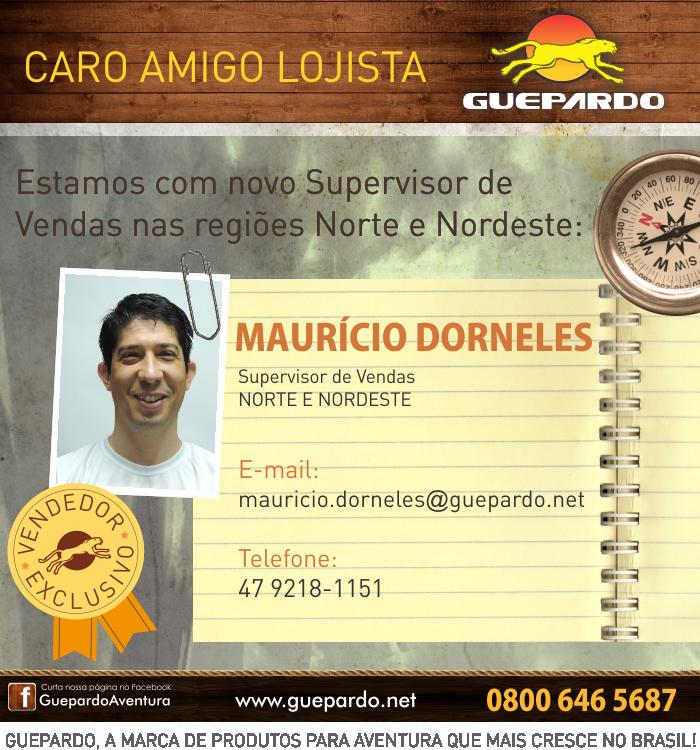 Supervisor de Vendas nas regiões Norte e Nordeste by tabataiauata