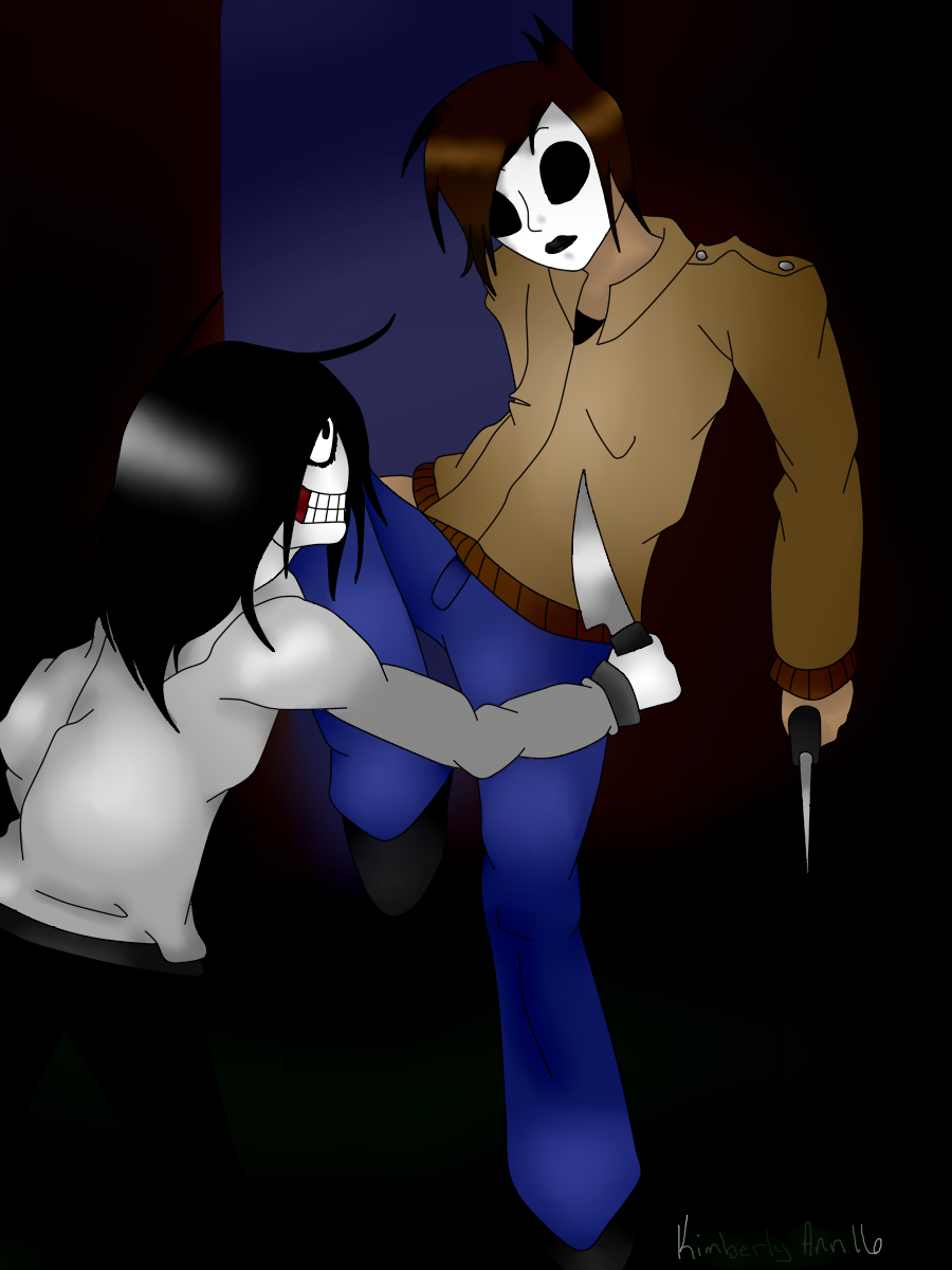 Jeff The Killer X Masky Yaoi