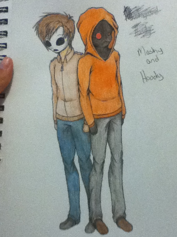 Masky and Hoody by KimberlyAnn16