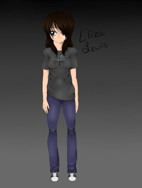 Eliza Ref Sheet 1 by KimberlyAnn16