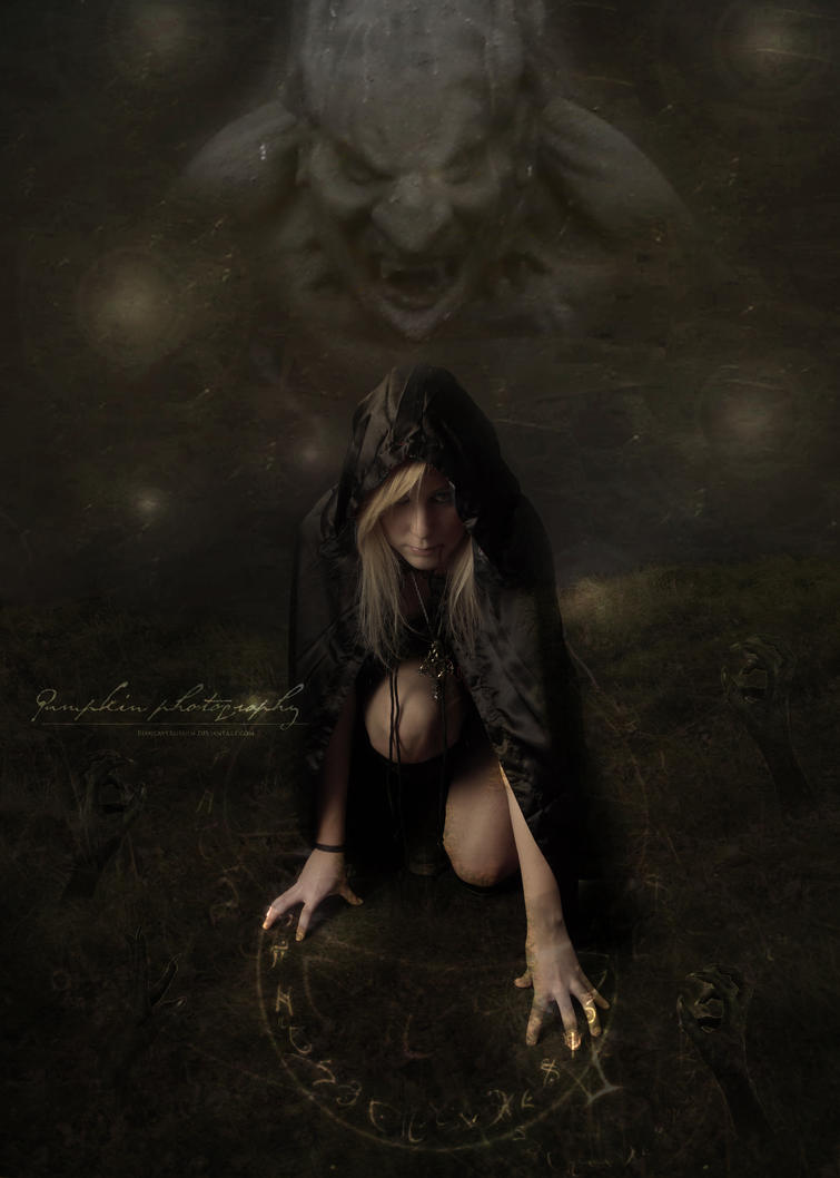The summoning by PumpkinPhotography