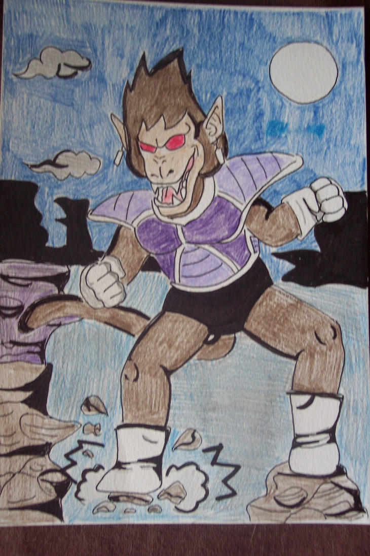 My Oozaru form by Forever-love-Frieza on DeviantArt