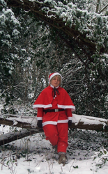 Santa Finland: Sitting