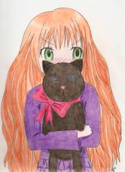 Neko-san by Oki-chan17