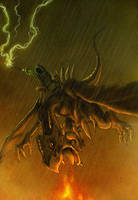 The Dragon Rider by KaelNgu