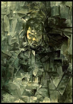 Self Portrait in Cubism