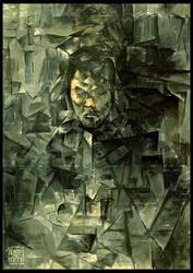 Self Portrait in Cubism by KaelNgu