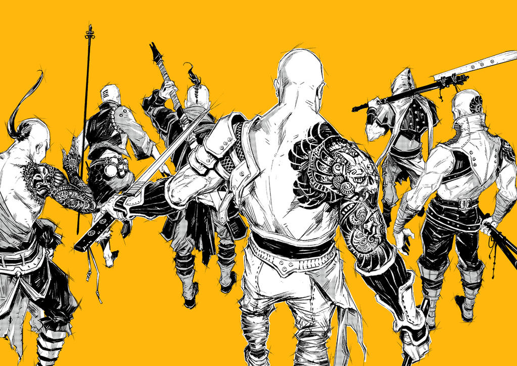 The Missing Six by KaelNgu