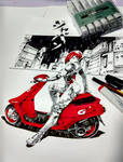 Commission_Red Ride