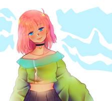 Chu anime OC by cchuu
