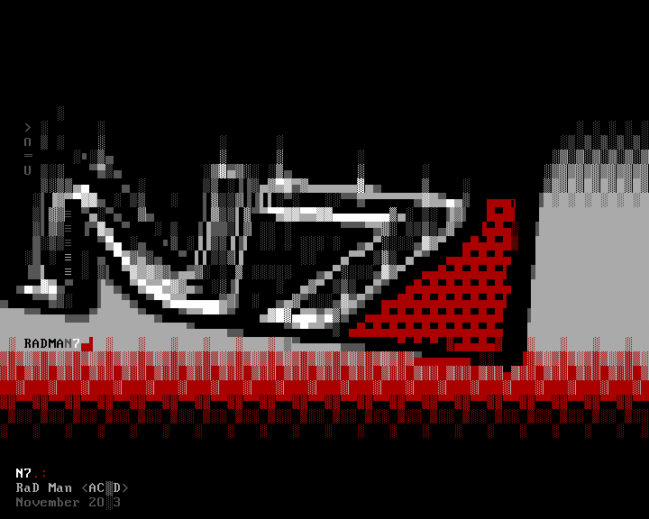 N7 (ANSI art) by radman1
