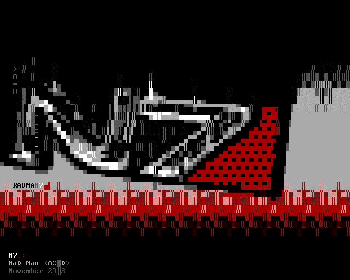 N7 (ANSI art) by radman1