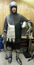 Early 14th century knight by wyverex