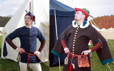 Celebration garments of a nobleman