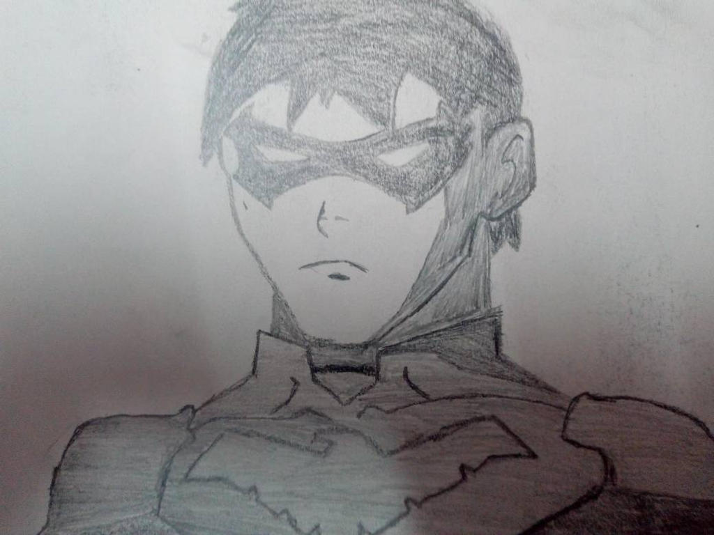 Nightwing from Young Justice by dicktator05