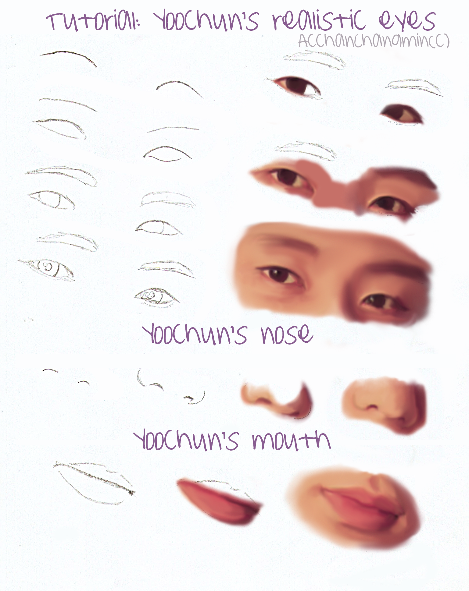 Tutorial: Yoochun's details by AcchanChangmin