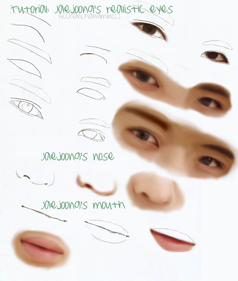 Tutorial: Jaejoong's details by AcchanChangmin
