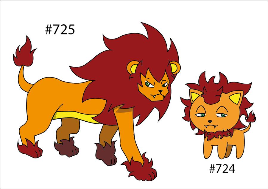 Fakemon. by BritishStarr | Fakemon's | Pinterest | Pokemon, Lion ...