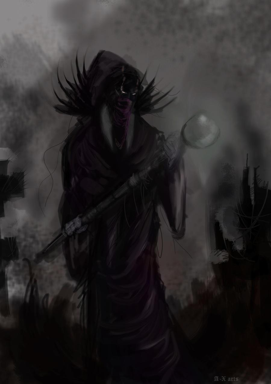 Dark Wizard concept by AkuroHunter on DeviantArt
