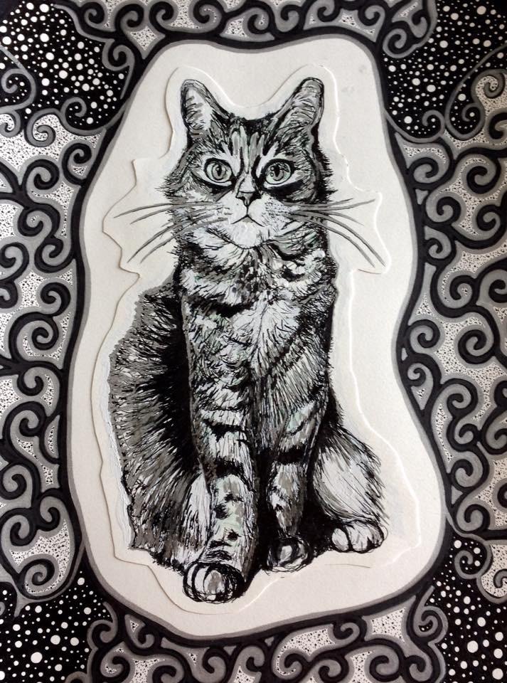 Cat by FlyAway28