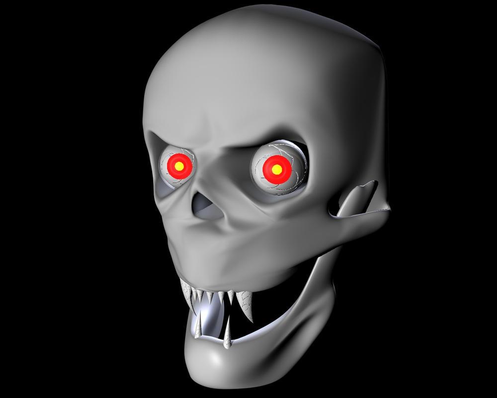 Skull by Botolinus
