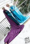 Queen of Arendelle by xAkiRose