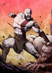 Kratos by jeromegagnon