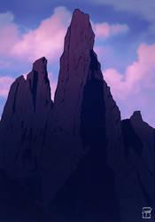Mountain #2 by EmanueleEramoArt