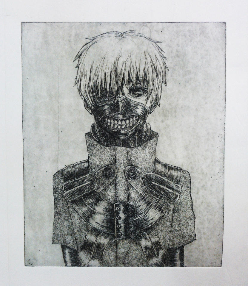 ken kaneki by MikiMonster