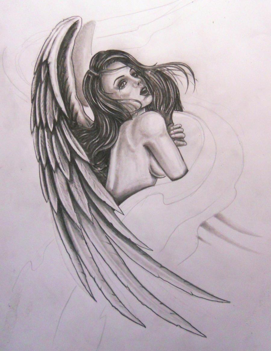 angel by karlinoboy