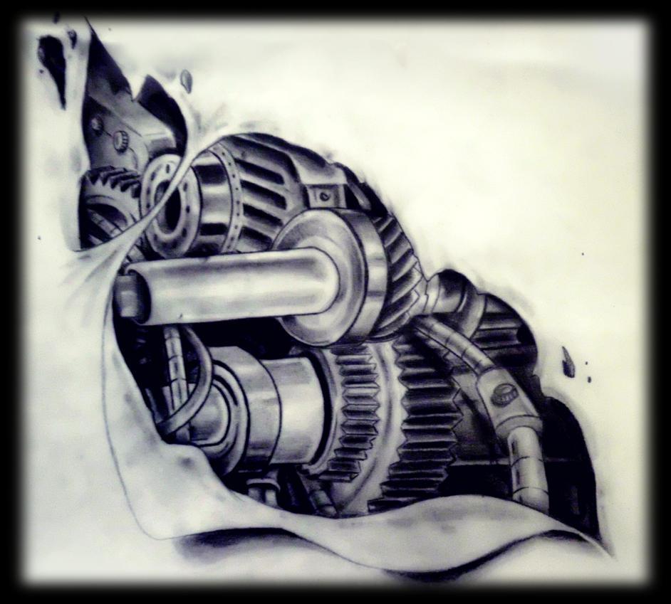 mech design by karlinoboy