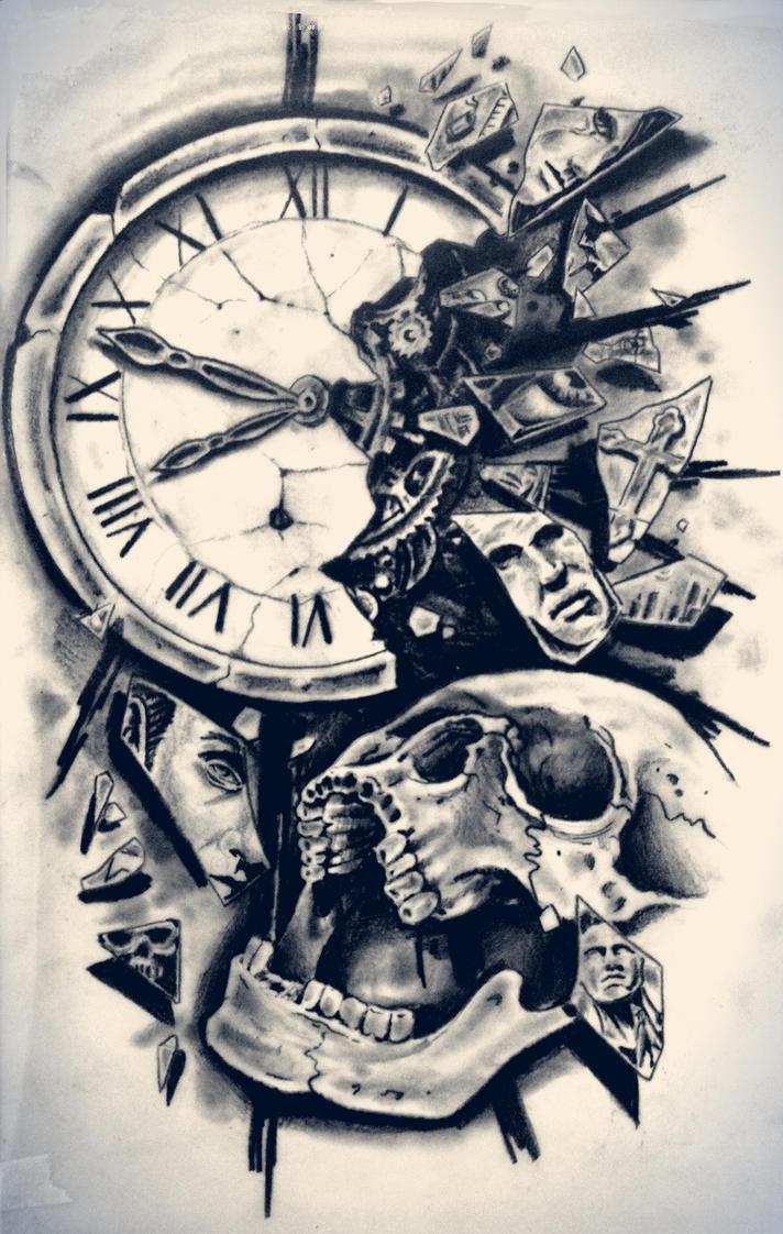 time by karlinoboy