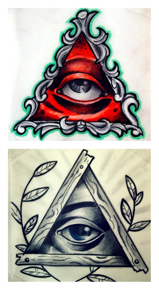 All Seeing Eyes By Karlinoboy