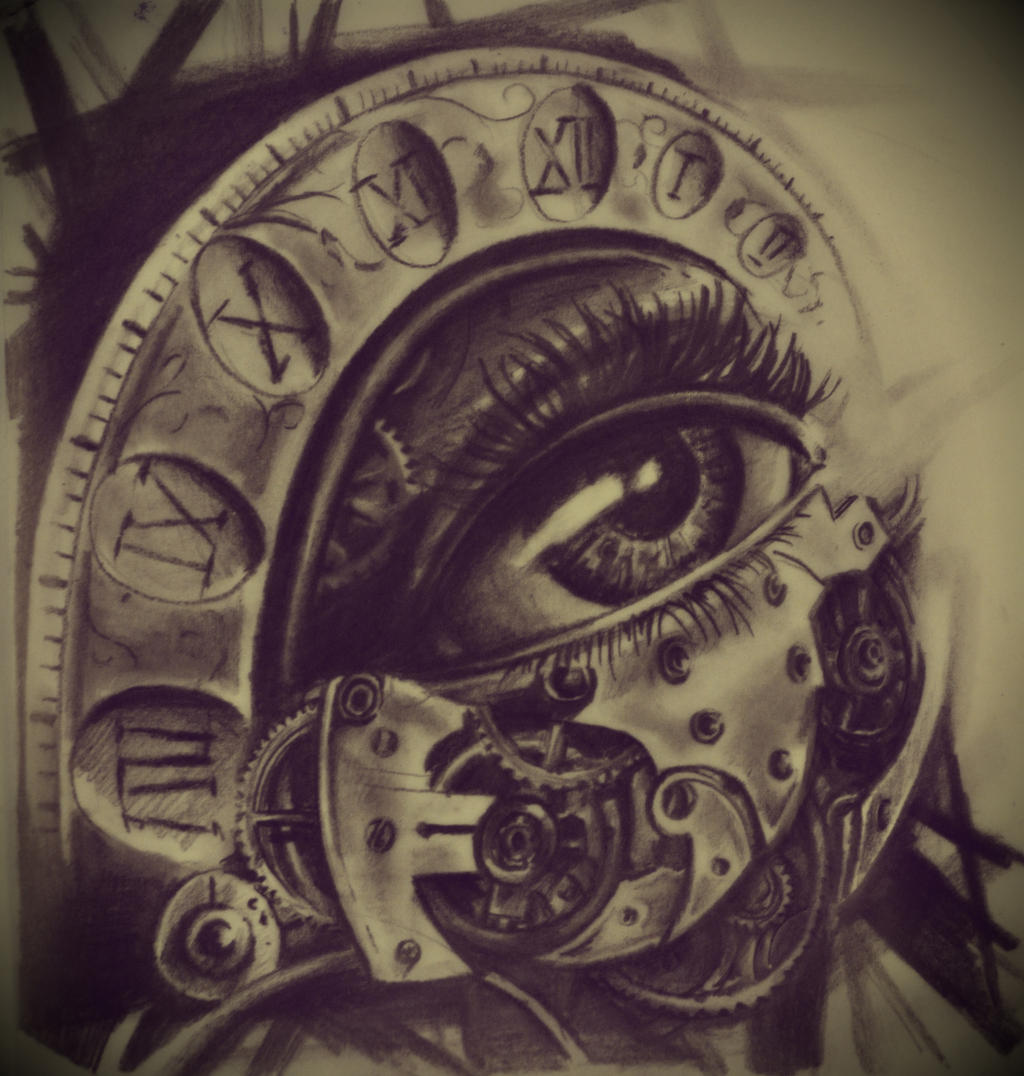 Eye And Multiple Clock Tattoo: The Eye By Karlinoboy On DeviantArt