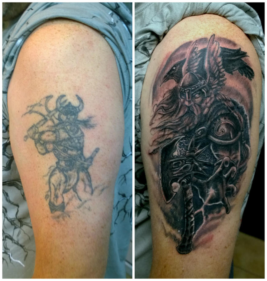 Tattoo Nightmares Viking Cover Up | www.pixshark.com