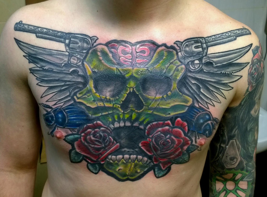 chest cover by karlinoboy