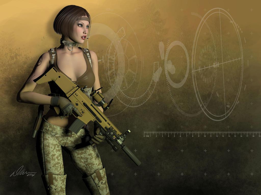 DDG-013 Anarchy by ArtworkByDon