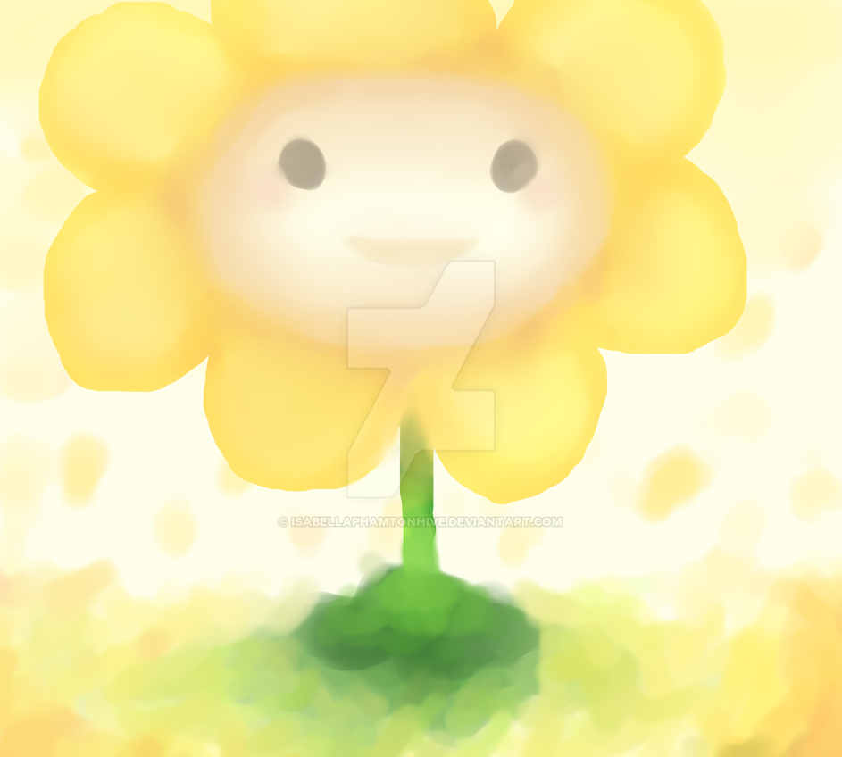 Flowey (Mouse) by IsabellaPhamtonhive