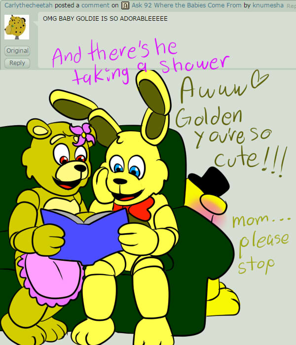 Ask Fnaf Babies: Ask 97 Baby Pictures By Knumesha On DeviantArt